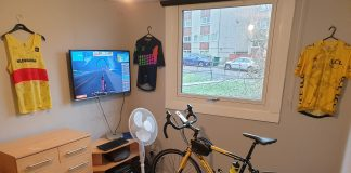 best tv for zwift